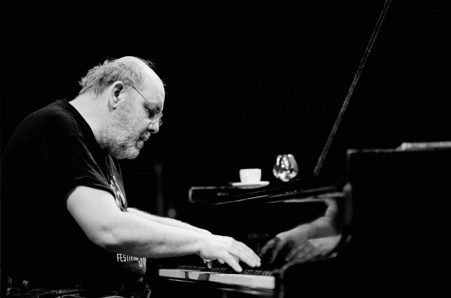Dutch piano player Misha Mengelberg performs at the BIM huis in Amsterdam, Netherlands in 1998.