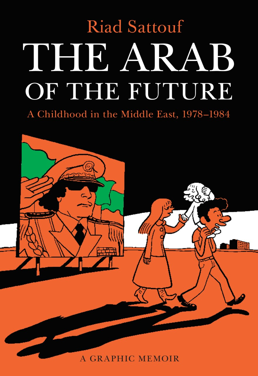 Riad Sattouf is a Syrian-French cartoonist whose graphic novel depicts his life growing up in Syria and Libya in the 1980s. His book was a bestseller in France and is now being published in English.