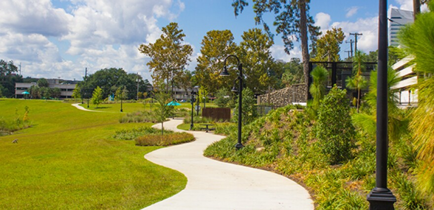 Downtown Tallahassee's Cascades Park was funded in part with Community Redevelopment Agency money.