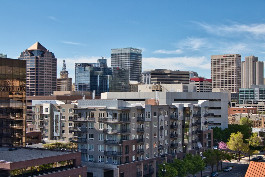 Photo of Downtown Salt Lake City.
