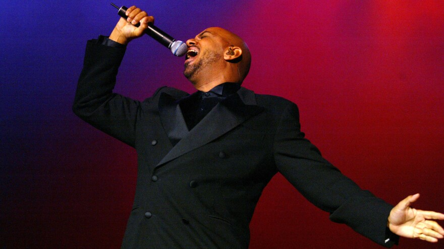 James Ingram, performing in  2004.