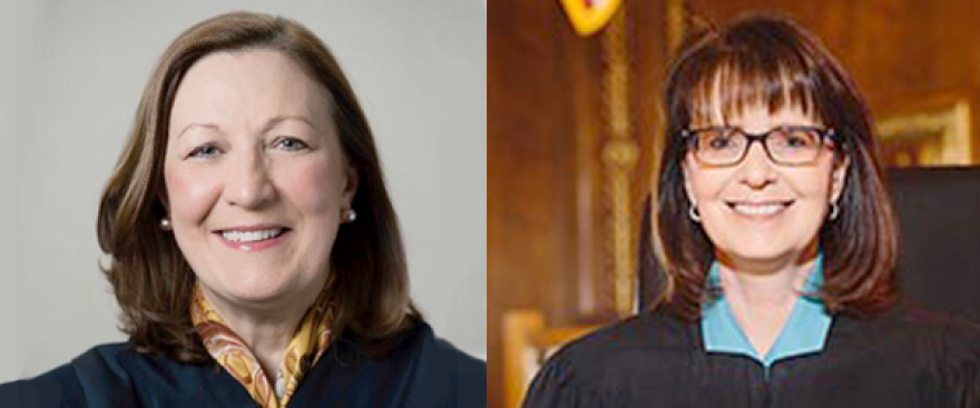 Ohio Supreme Court candidates Jennifer Brunner and Judi French