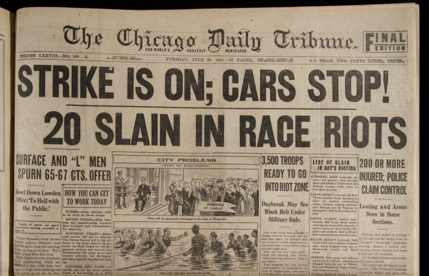 pg. 1, detail; July 29, 1919