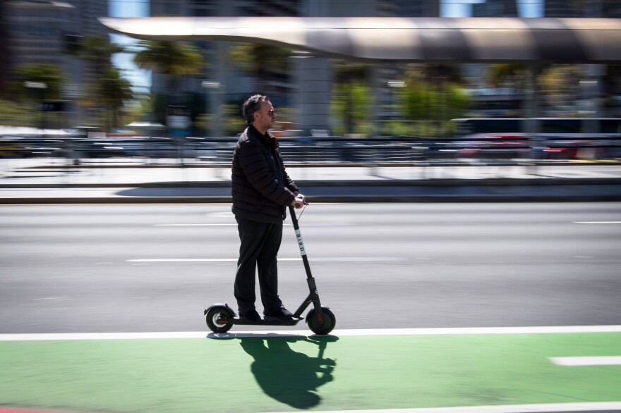 Shared scooters and bicycles are spreading to several major U.S. cities while policymakers are scrambling to find ways to ensure that riders are safe.