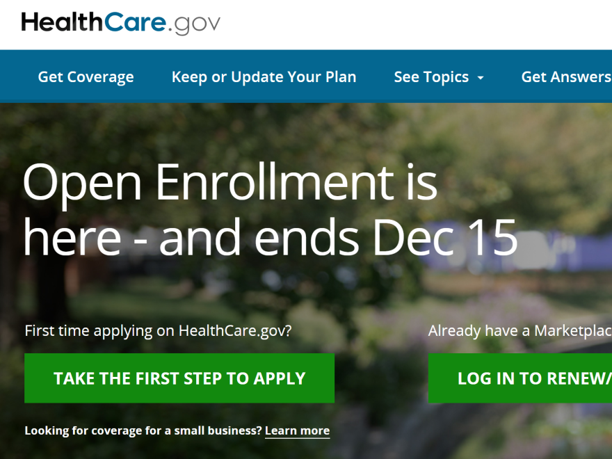 Health insurance navigators are urging people to sign up for Obamacare plans to ensure they are covered in the new year, despite uncertainty about the Affordable Care Act's future.