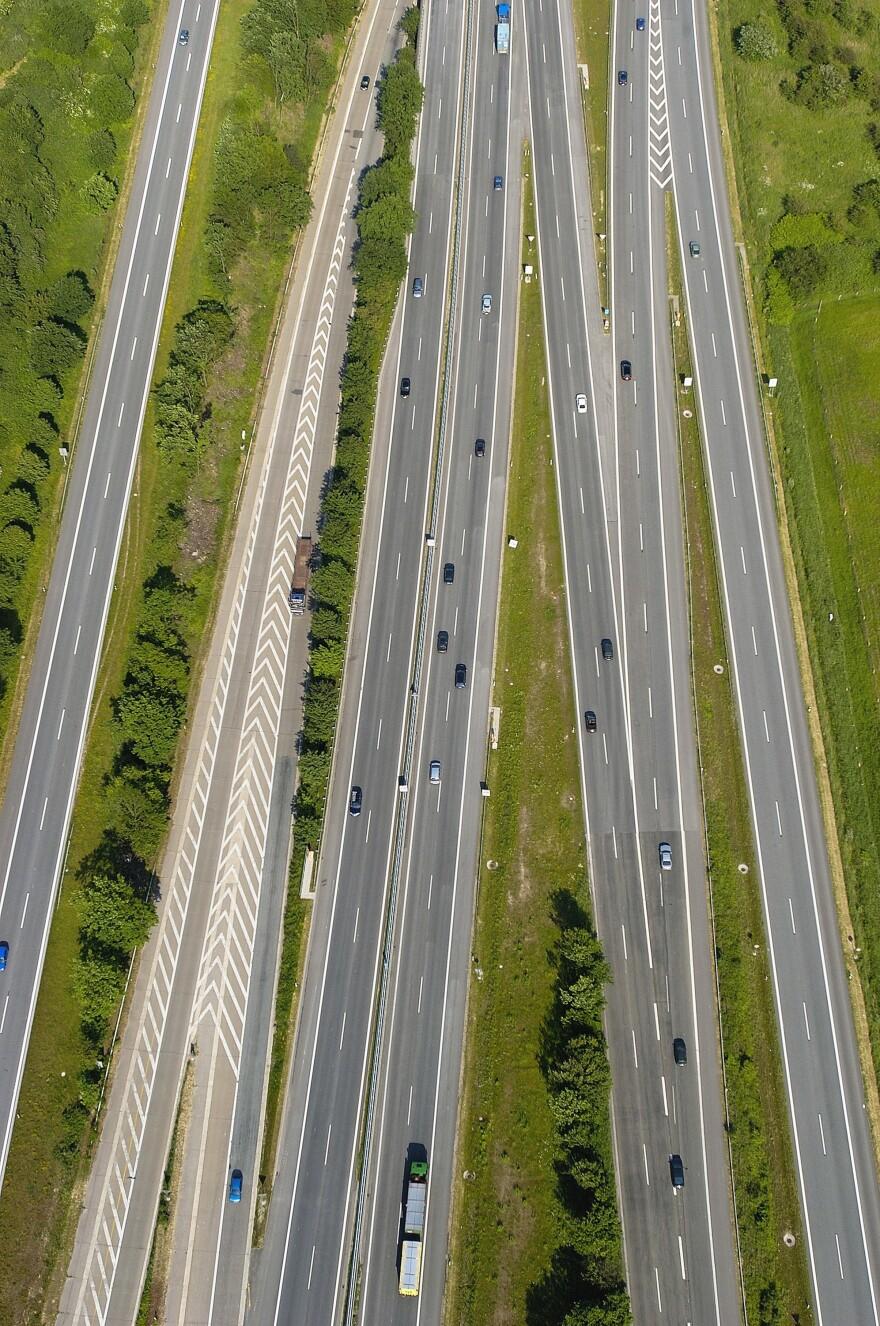 Das Autobahn, photographed in 2009.