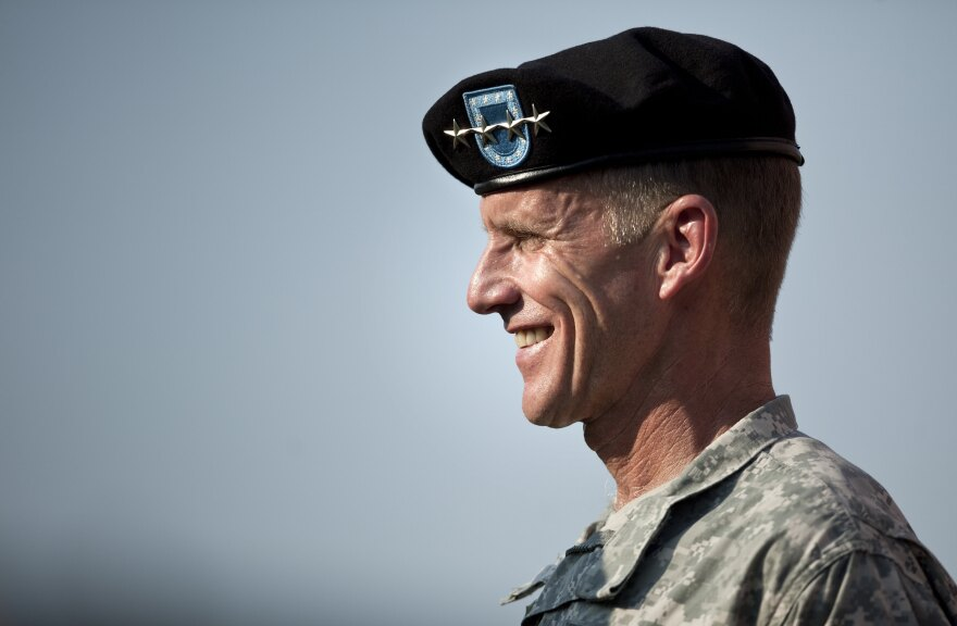 President Obama appointed Gen. Stanley McChrystal to lead a panel on military families.