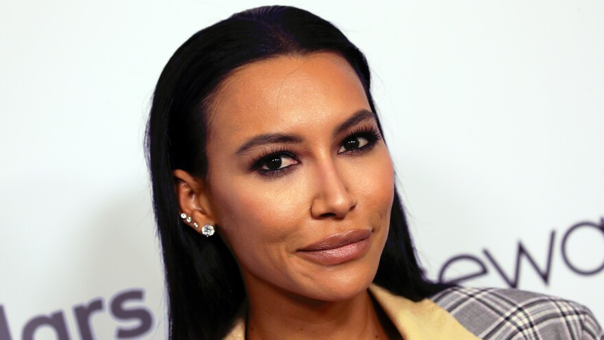Naya Rivera at the 2019 Women's Guild Cedars-Sinai annual luncheon in Beverly Hills, Calif.