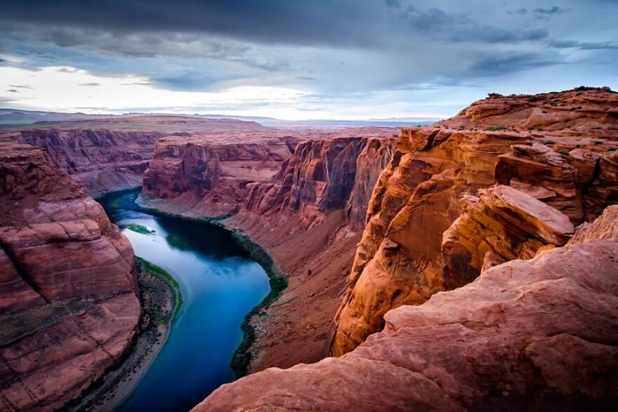 A photo of the Colorado River.