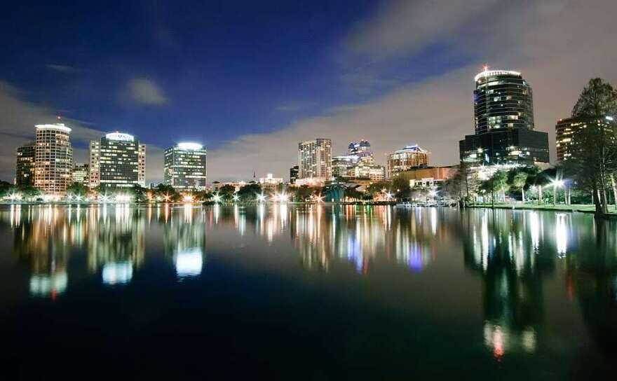 Orlando was judged Florida's healthiest city.