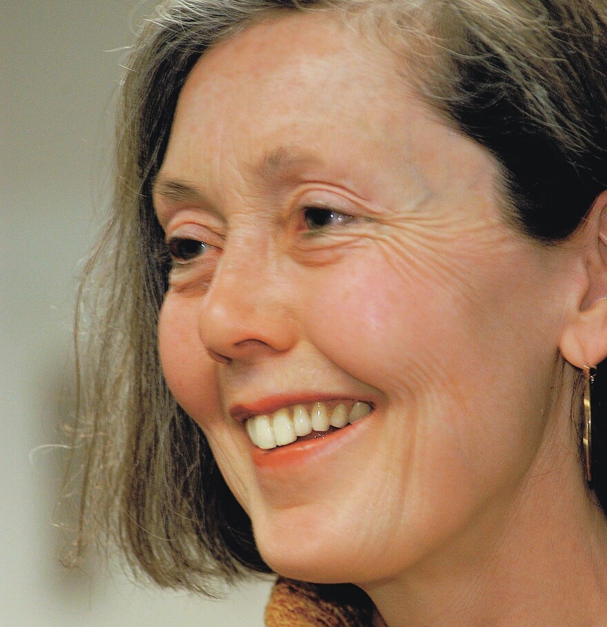 Anne Carson's newest book of poetry will be called <em>Red Doc></em>.