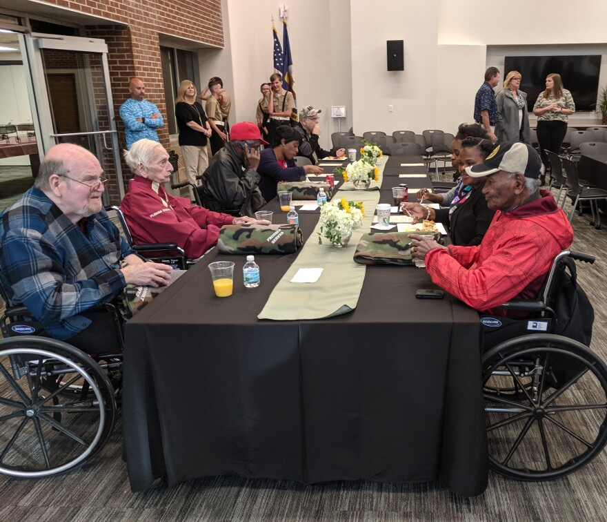 Veterans were treated to brunch and awards at the Association's headquarters.
