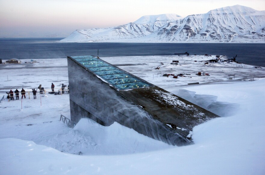 "The Svalbard Global Seed Vault was inaugurated in 2008. The ""doomsday vault"" lies inside an Arctic mountain in the remote Norwegian archipelago of Svalbard. For the first time, scientists are taking some seeds out."