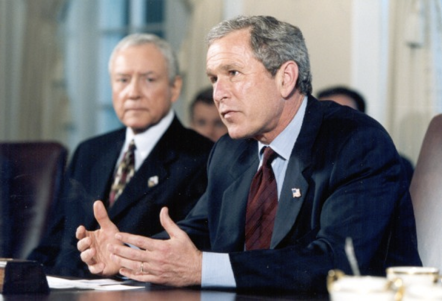 Photo of Hatch and Bush.
