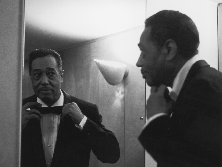 Duke Ellington, looking dapper in 1958.