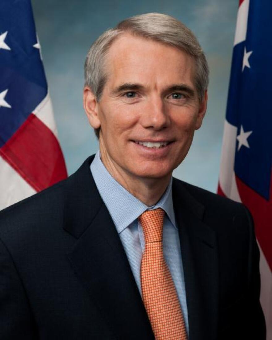 A photo of Sen. Rob Portman.