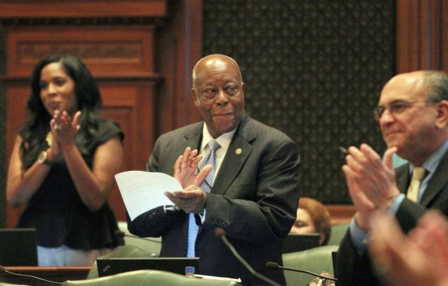 State Rep. Eddie Lee Jackson Sr. in the Illinois House Representatives in this Aug. 17, 2012 file photo. Jackson served for 8 years in the Illinois Legislature.