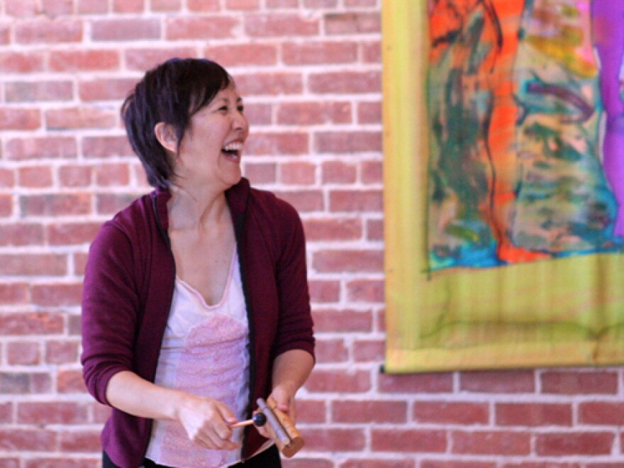 """Coke Tani will lead """"All of Me for All of You,"""" a creative movement and poetry workshop at Tadaima."""