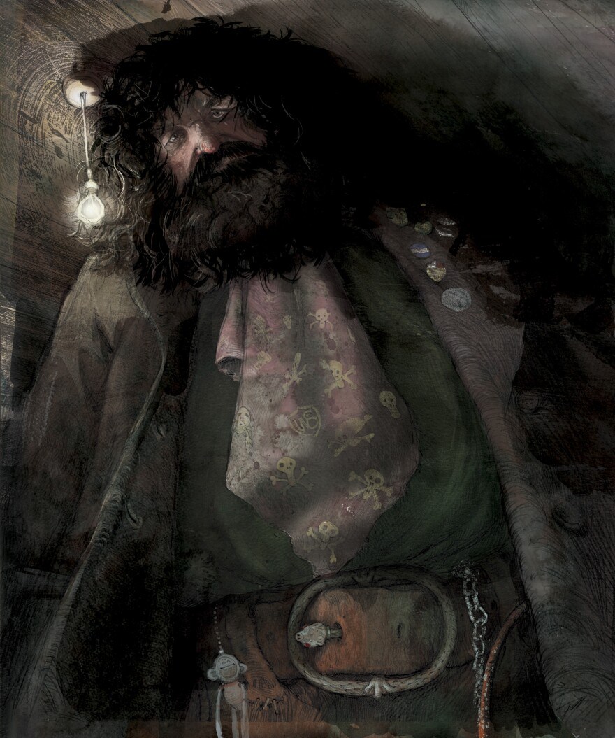 Hagrid, the trusty half-giant himself.