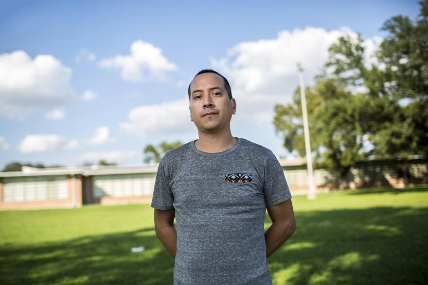East Austin resident Vincent Tovar
