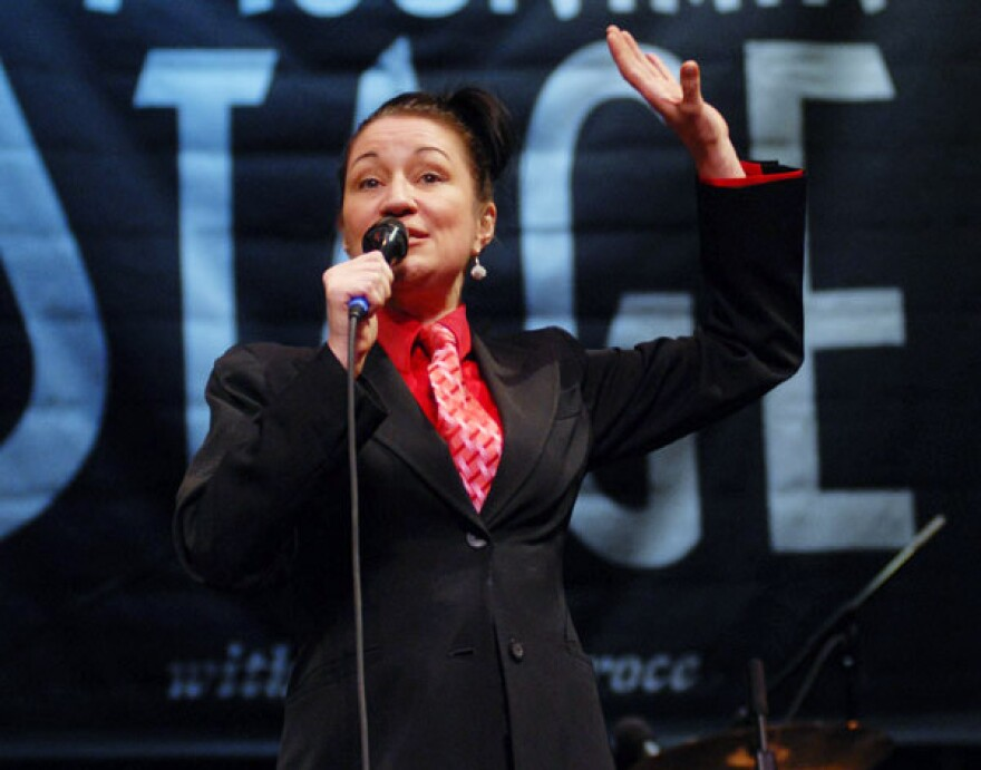 Holly Cole on Mountain Stage in 2009