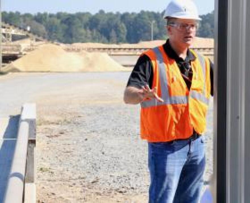 Bobby Taylor supplies renewable pine tree biomass to Highland Pellets.