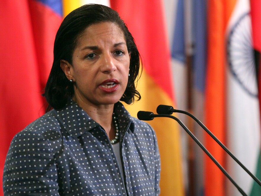 U.N. Ambassador Susan Rice.