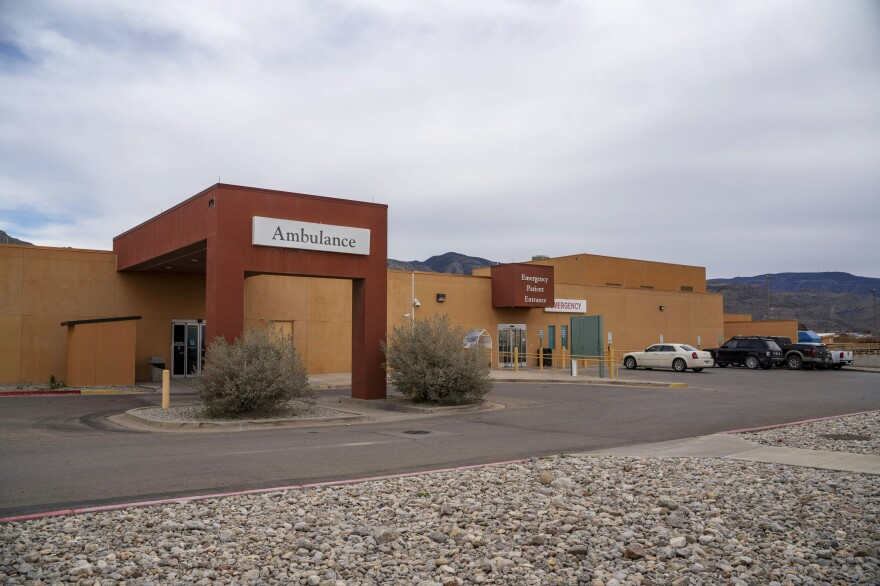 Gerald Champion Regional Medical Center in Alamogordo, New Mexico where an 8-year-old boy from Guatemala died in government custody on Monday U.S. Customs and Border Protection says.