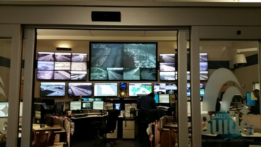 The Transportation Management Center in Chestefield