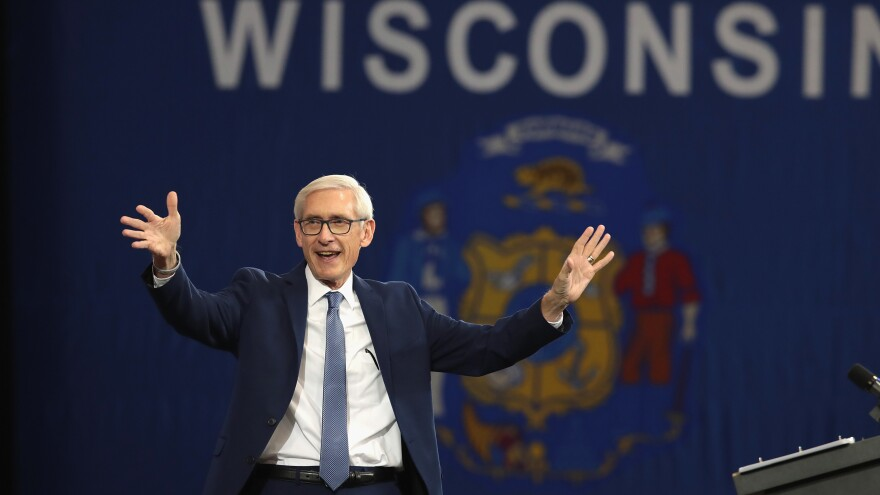 Tony Evers, Democratic candidate for governor of Wisconsin, faced a primary opponent who was further left and does not take up all the far-reaching policy positions of Bernie Sanders. But he has embraced the progressive banner, and Sanders has his back in a campaign to unseat GOP Gov. Scott Walker.