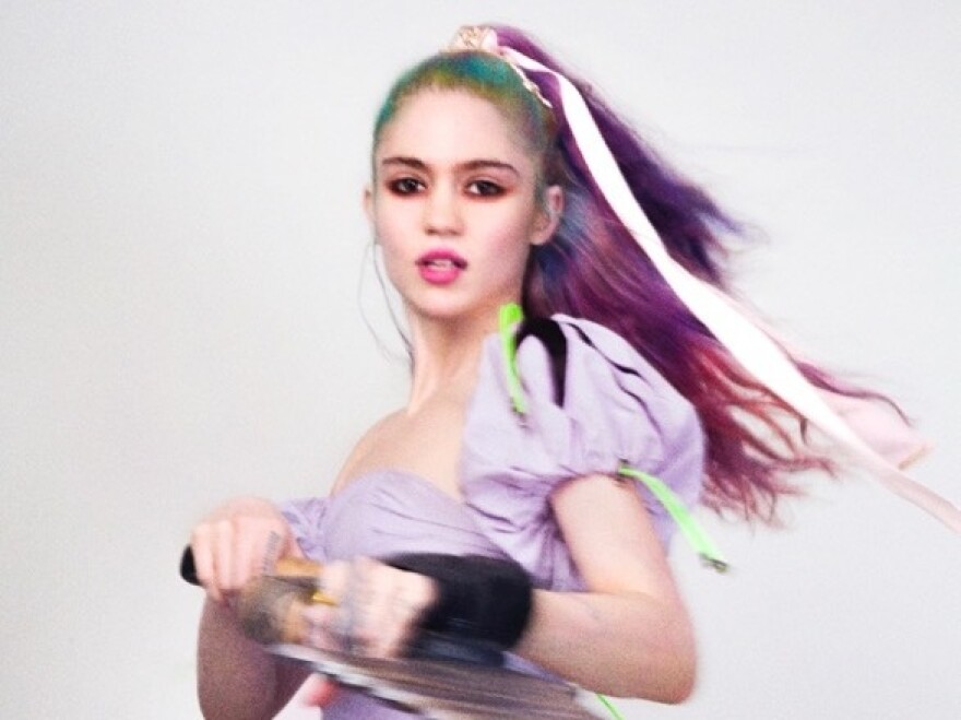 """After releasing collaborations with Janelle Monáe, Poppy and Loona, """"We Appreciate Power"""" is Grimes' first new track since 2015's <em>Art Angels</em>."""