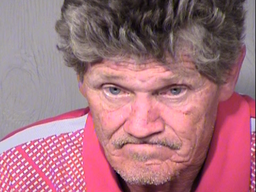 "According to a criminal complaint, Gregory Rodvelt, in a photo provided by the Surprise Police Department in Arizona from a separate incident, told law enforcement ""I would not race right in"" to the booby-trapped home."