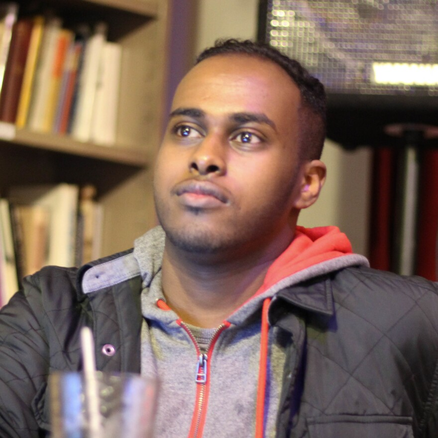 Ohio State University senior Mohamed Farah says his stomach fell when he heard the attacker was also a Somali refugee.