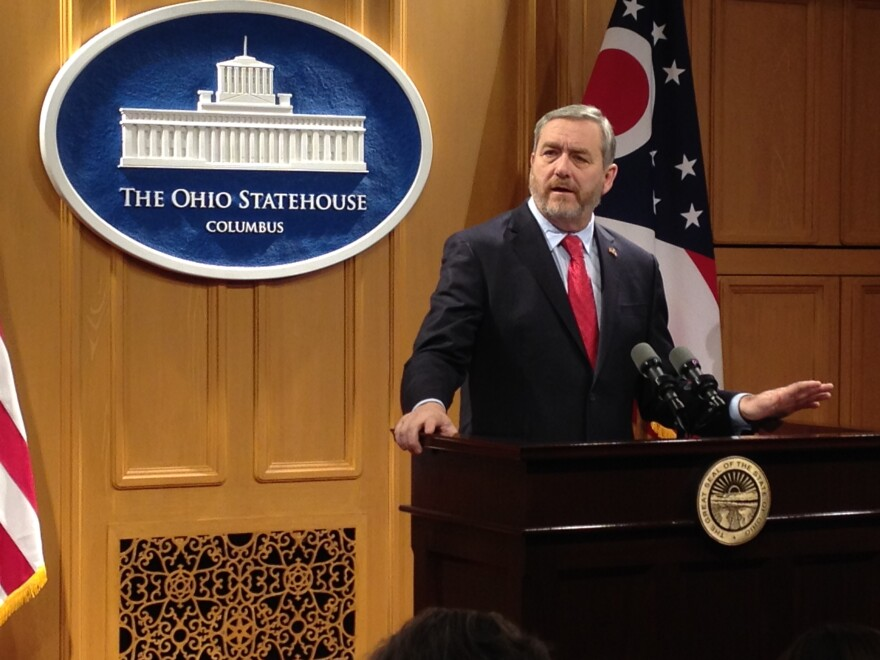 A photo of Attorney General Dave Yost.