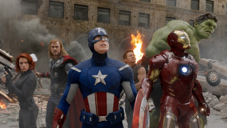 <strong>When The World Needs Saving: </strong>Marvel superheroes Black Widow (Scarlett Johansson), Thor (Chris Hemsworth), Captain America (Chris Evans), Hawkeye (Jeremy Renner), Iron Man (Robert Downey Jr.) and the Hulk (Mark Ruffalo) are the world's last line of defense — but that doesn't mean they get along.