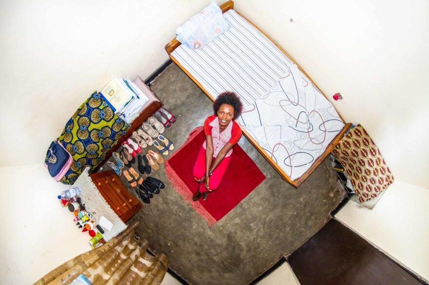 Josee, 22, is a student from Kigali, Rwanda.