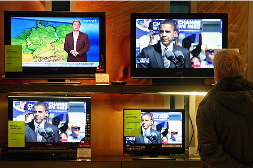 TV coverage of the 2012 elections