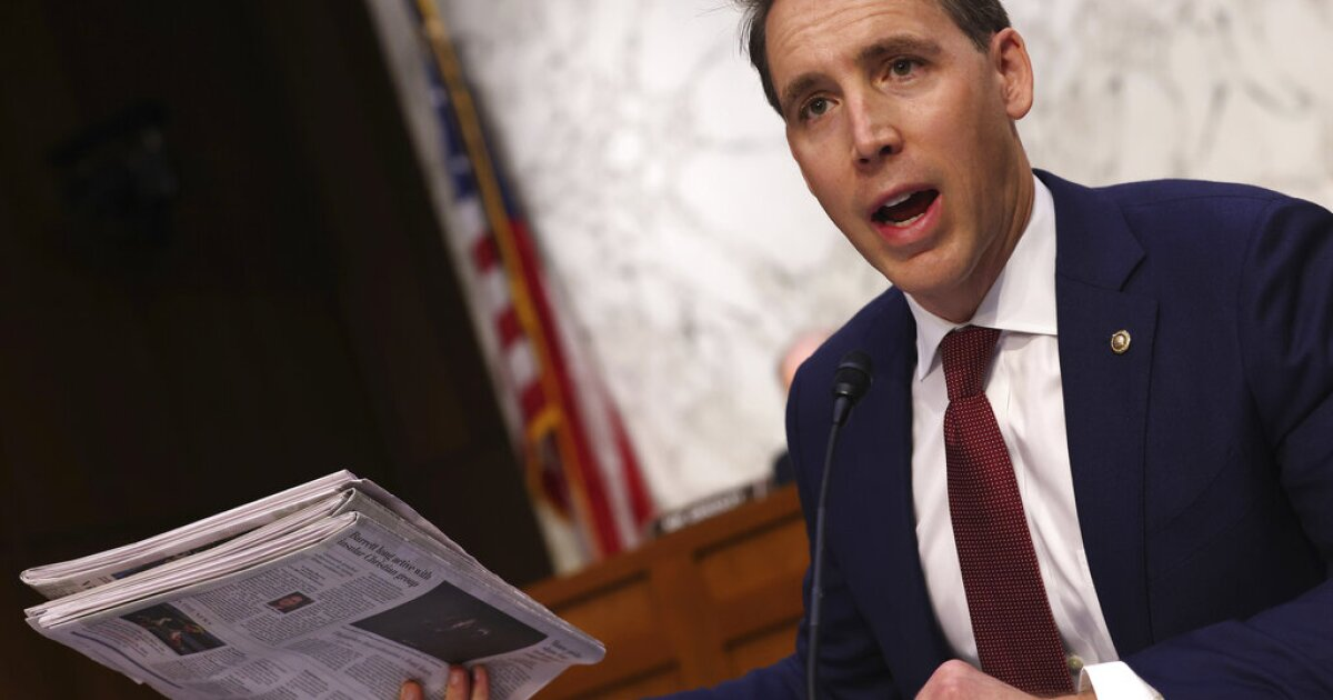 Sen. Josh Hawley Likes To Note His Roots In Lexington, Missouri, But It's Complicated