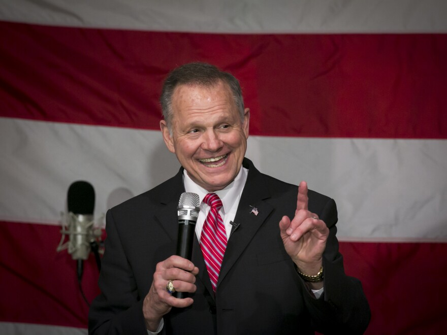 Moore has dismissed the allegations of sexual misconduct against him as politically motivated.