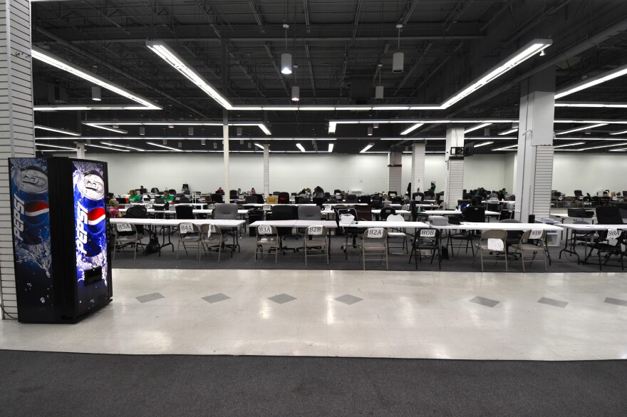 Nationwide, more than 7.3 million people have selected health insurance plans during this open enrollment period for Healthcare.gov. More than 1.3 million Floridians have done so through Jan. 23, 2015. Long tables and empty chairs at Sunshine Life & Healt