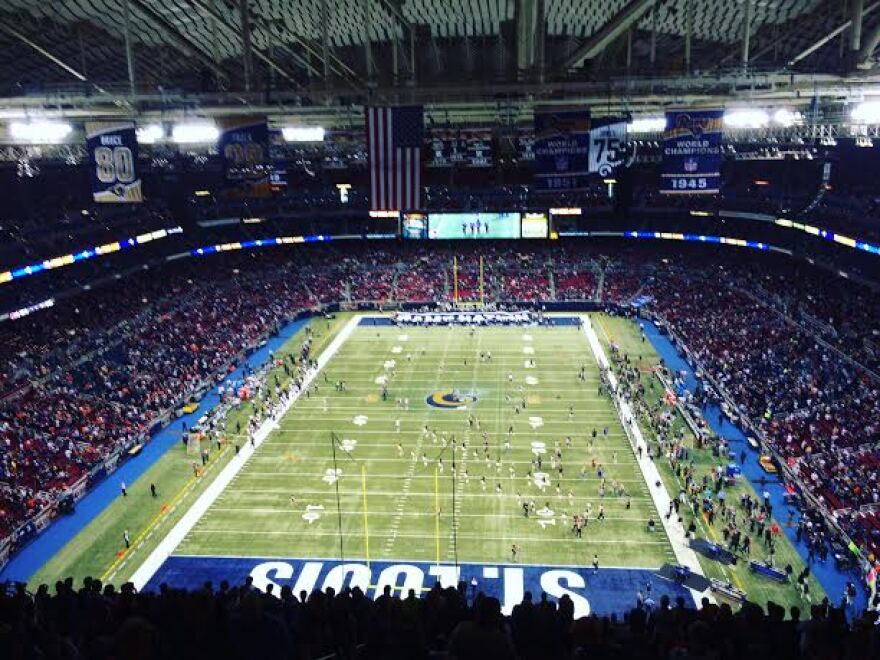 The Edward Jones Dome has been home to the St. Louis Rams since 1995.
