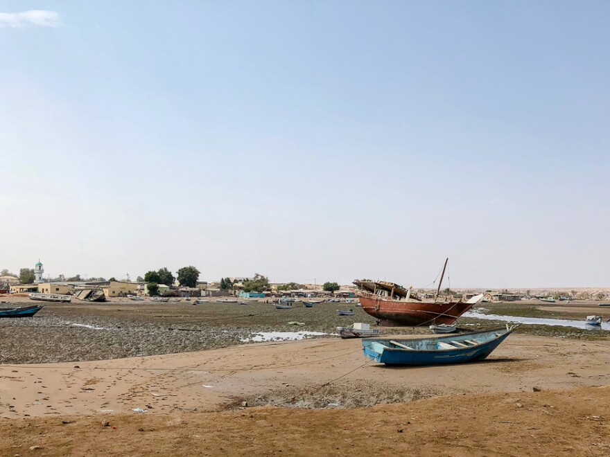 Yemenis who make the overnight journey to Djibouti by boat often end up at this shore in the small town of Obock, where the United Nations runs a camp for refugees.