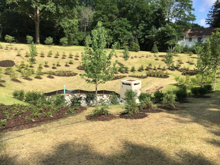 Akron green storm water system design