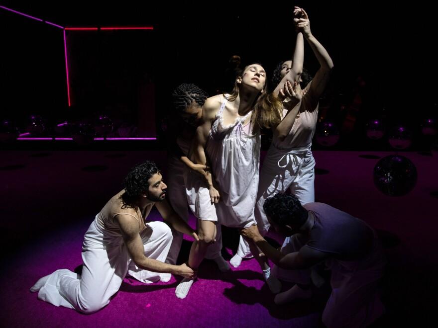 A scene from the 2019 Pulitzer Prize-winning opera <em>p r i s m</em>, by Ellen Reid.