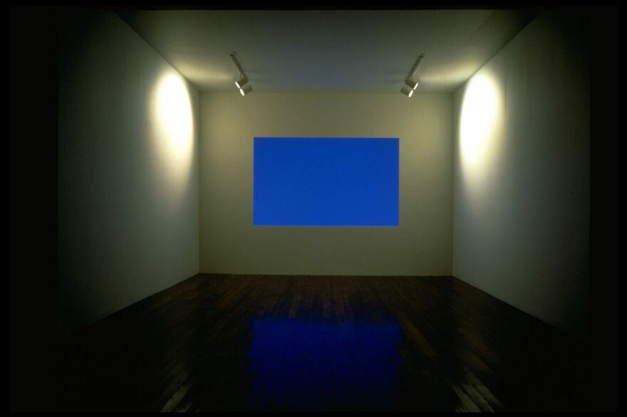 """James Turrell manipulates light in his 1983 installation <a href=""""http://www.mattress.org/archive/index.php/Detail/Collections/561"""">Danaë</a>."""