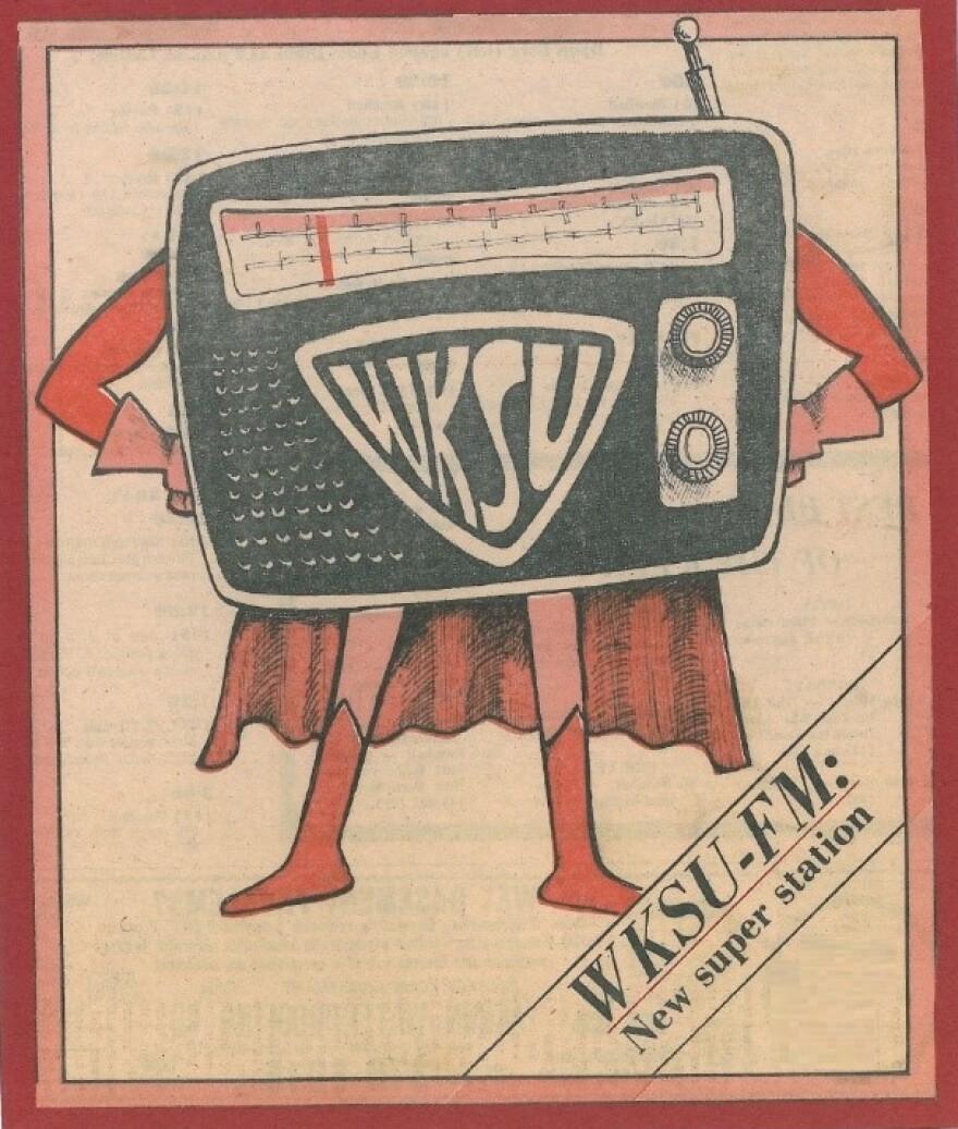 WKSU 1980 ad