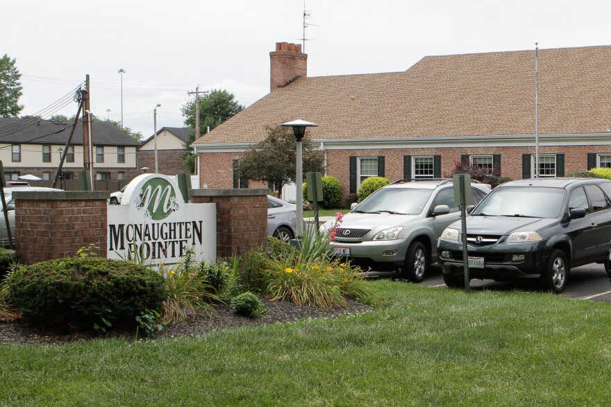 The nursing home McNaughten Pointe in Columbus, Ohio has the most COVID cases of any facility in the state.