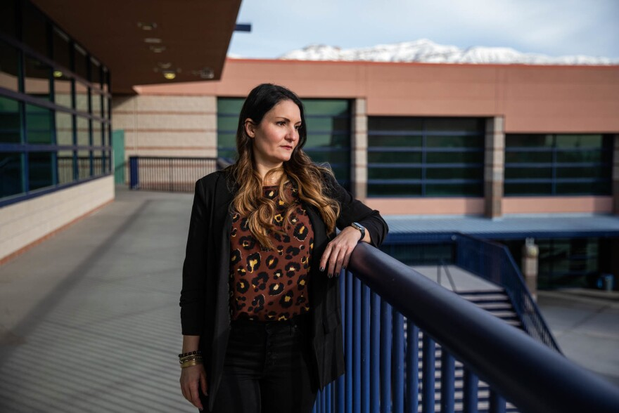 Colleen Neely is a counselor at Shadow Ridge High School in Las Vegas. Neely lost one of her favorite students to suicide last May, just two weeks before graduation.