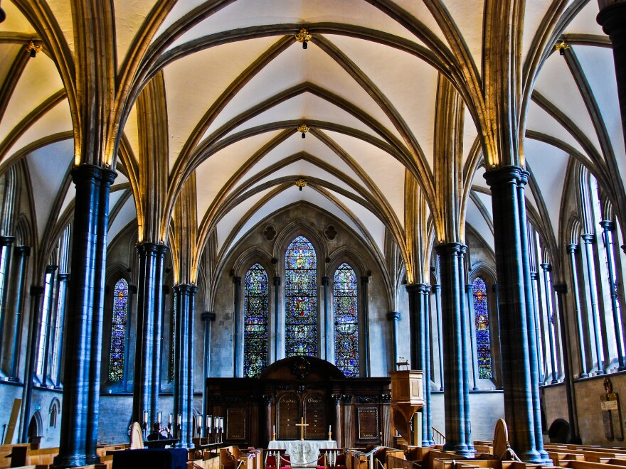 Temple Church in London, England