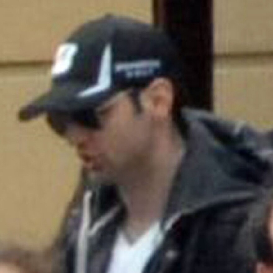 Bombing suspect Tamerlan Tsarnaev, 26, in a surveillance image taken shortly before the blasts that struck the Boston Marathon last month.